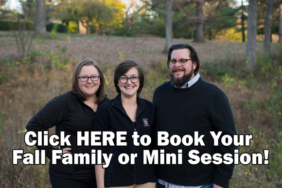 Click here to book your fall mini session